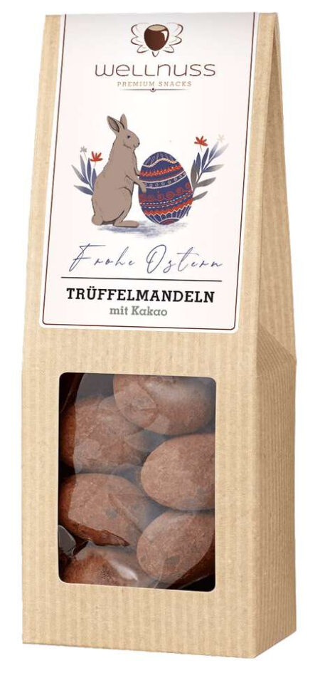 Trüffelmandeln mit Kakao - 70g-0