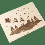 """""""Limitierte Weihnachtsedition"""" - 4 Snacks in der Birkenholzbox-1283"""