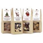 """""""Limitierte Weihnachtsedition"""" - 4 Snacks in der Birkenholzbox-2570"""