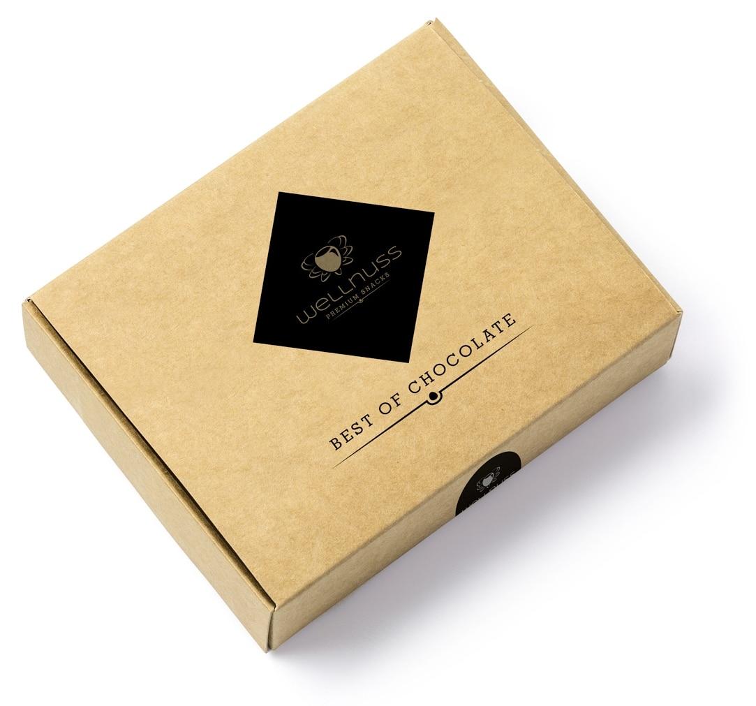 "4 Schokoladensnacks im ""Best of Chocolate"" Karton-1402"