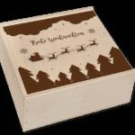Adventskalender in der Birkenholzbox mit 4 Gewürzen-2500