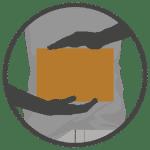 Premium Adventskalender gefüllt mit 24 Trüffelmandeln mit Kakao-2486
